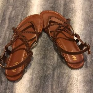 brown Payless sandals